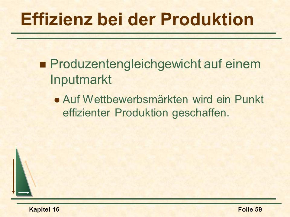 Effizienz bei der Produktion