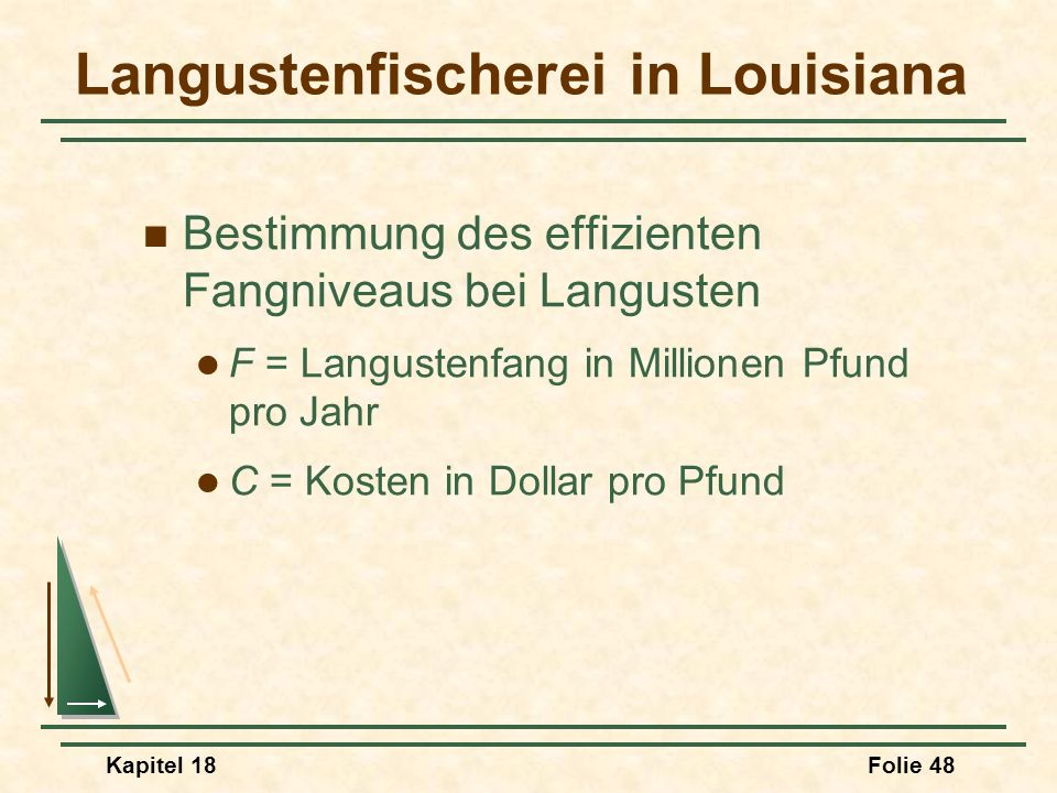 Langustenfischerei in Louisiana