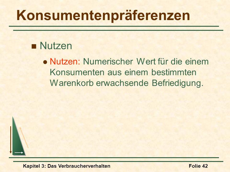 Konsumentenpräferenzen