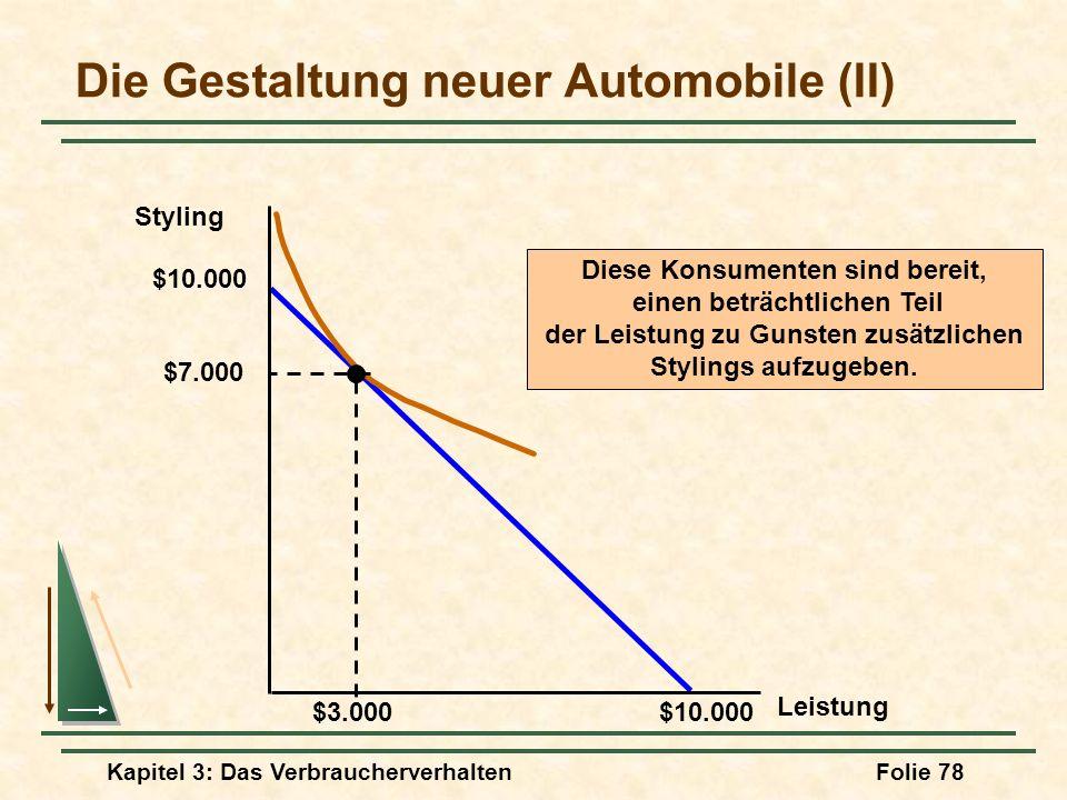 Die Gestaltung neuer Automobile (II)