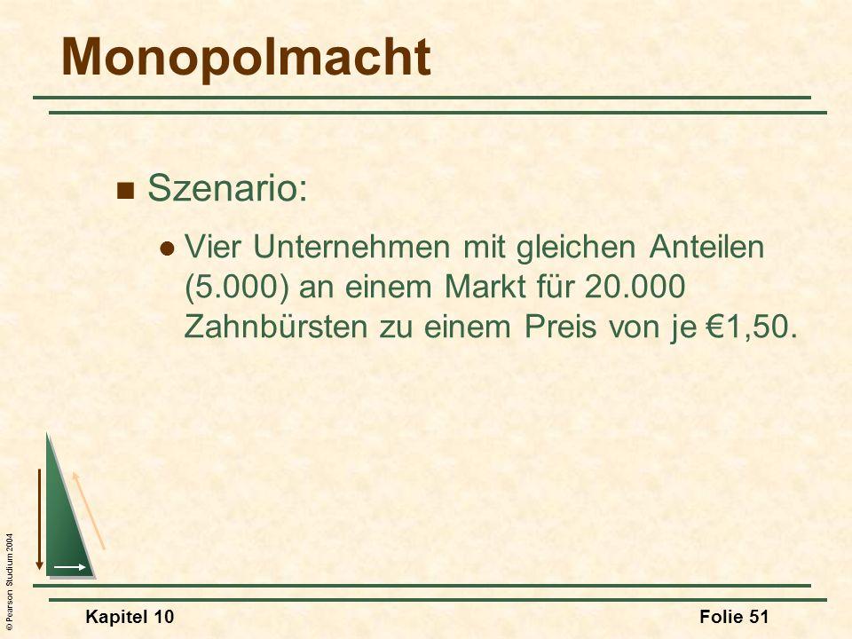 Monopolmacht Szenario: