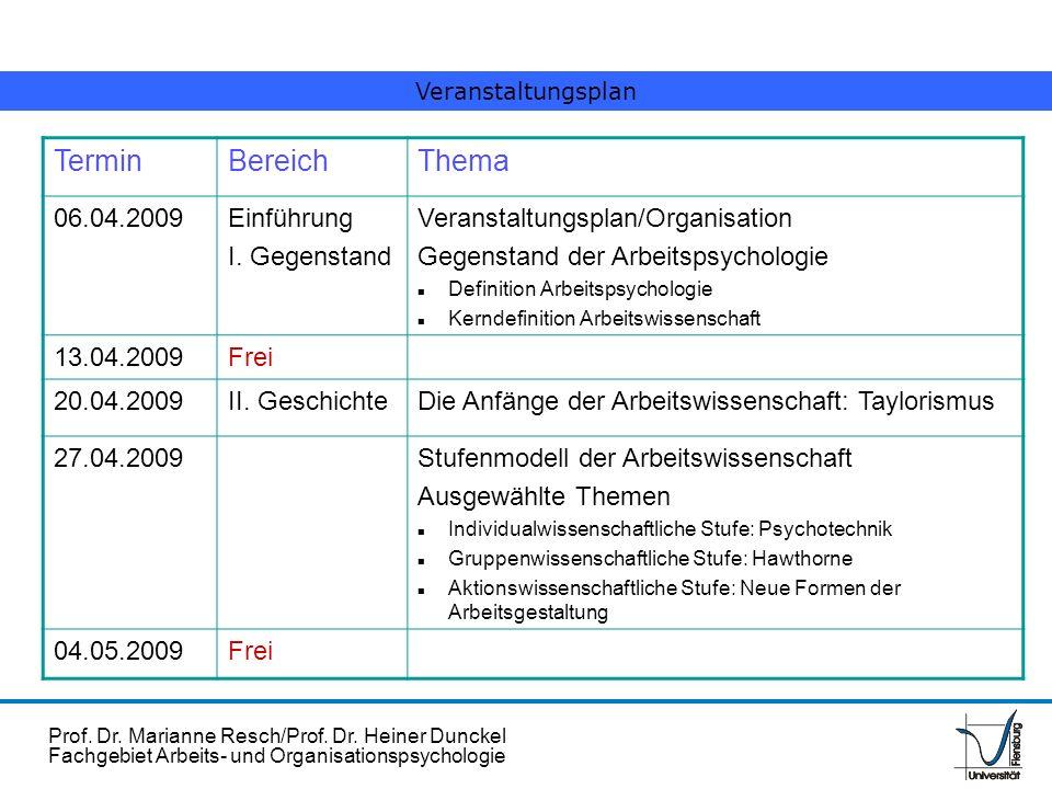 Termin Bereich Thema 06.04.2009 Einführung I. Gegenstand