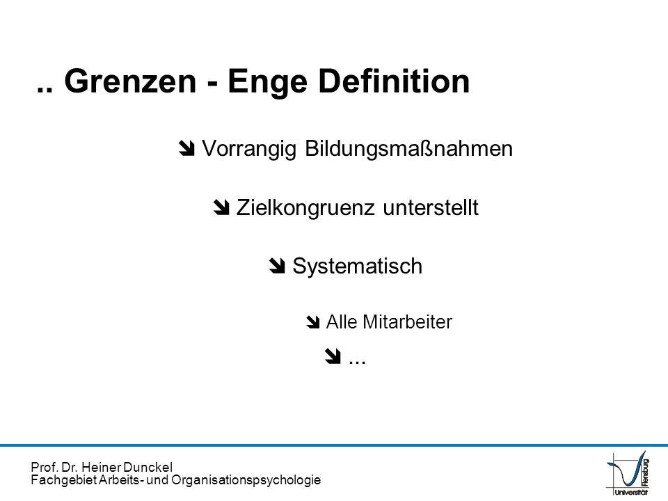 .. Grenzen - Enge Definition