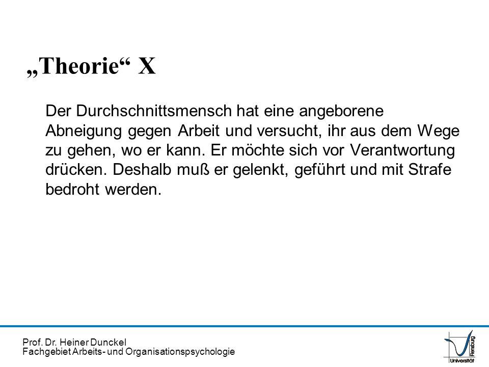 """Theorie X"