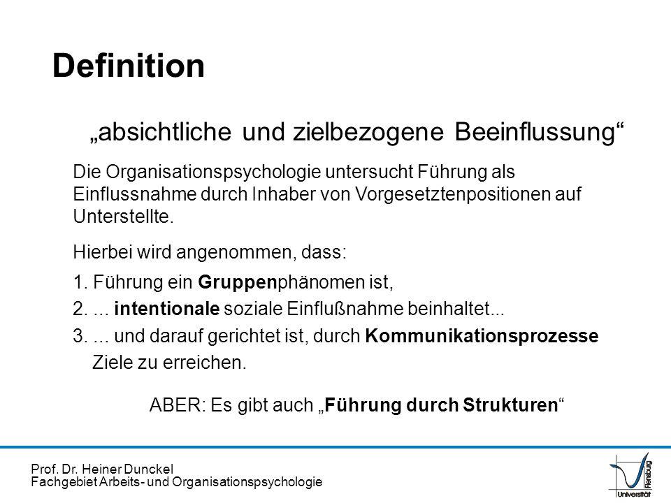 """Definition """"absichtliche und zielbezogene Beeinflussung"""