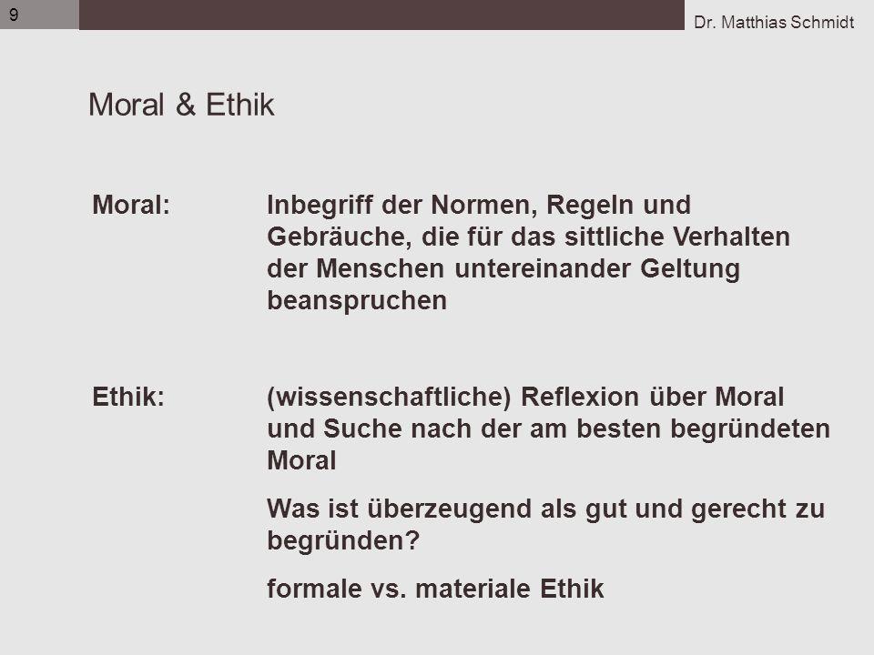9 Flens_UE1_Organisatorisches_05-06.ppt. Moral & Ethik.