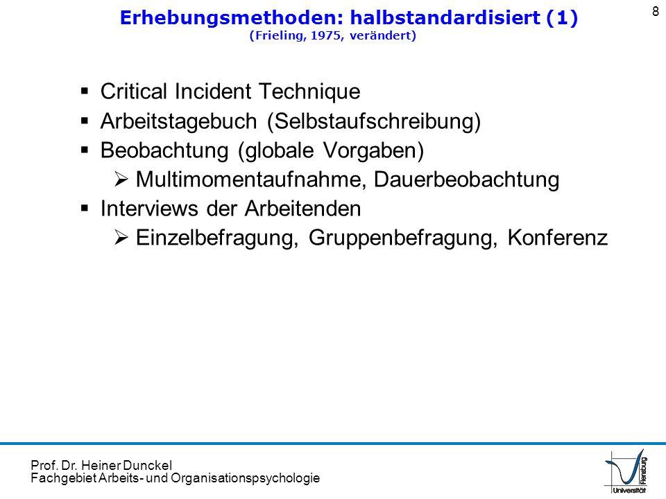 Erhebungsmethoden: halbstandardisiert (1)