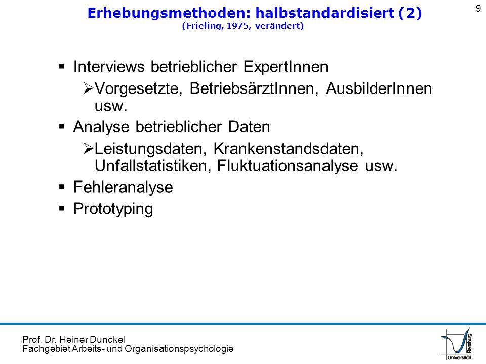 Erhebungsmethoden: halbstandardisiert (2)
