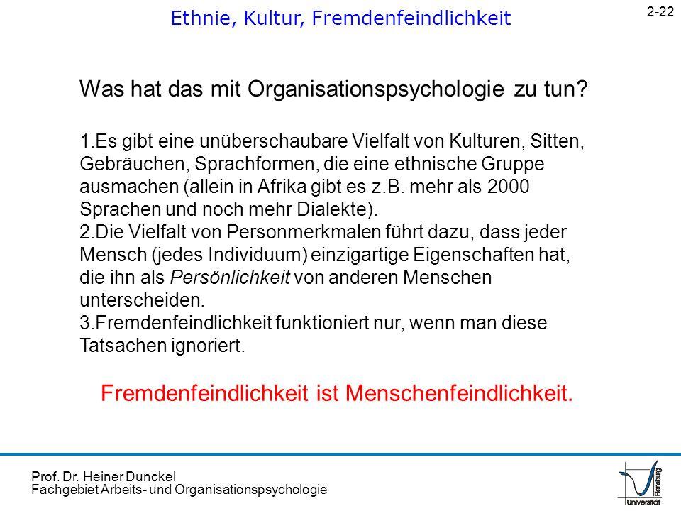 Was hat das mit Organisationspsychologie zu tun
