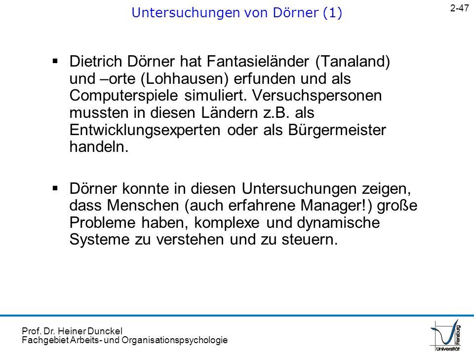 Untersuchungen von Dörner (1)