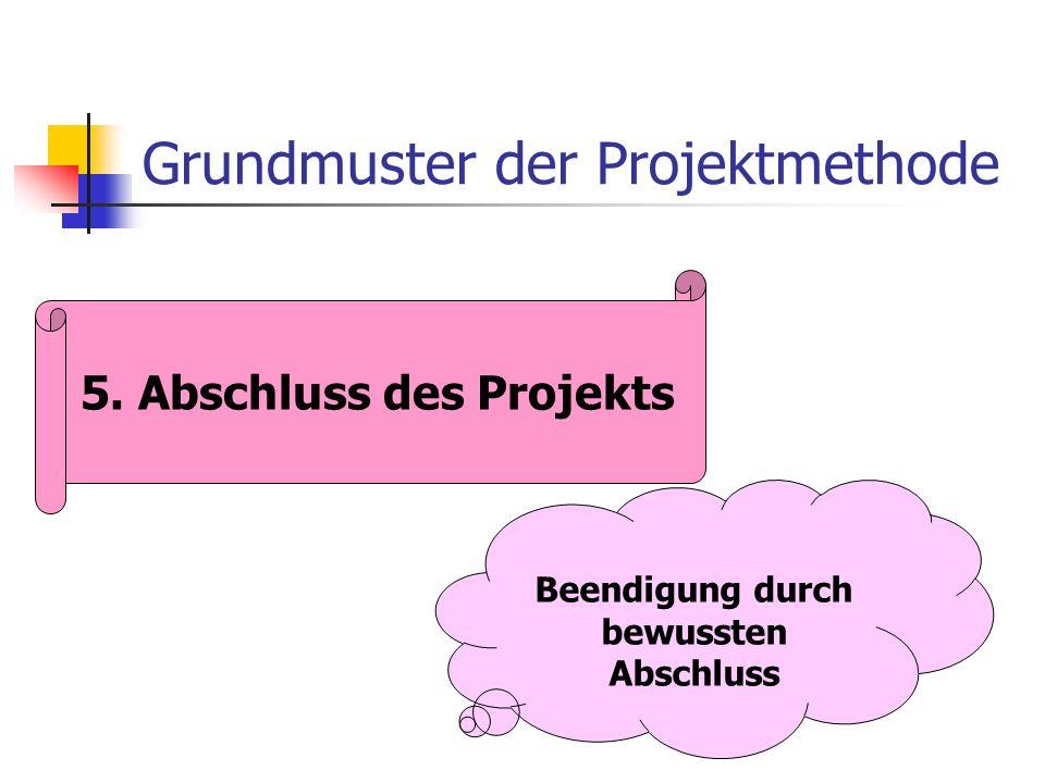 Grundmuster der Projektmethode