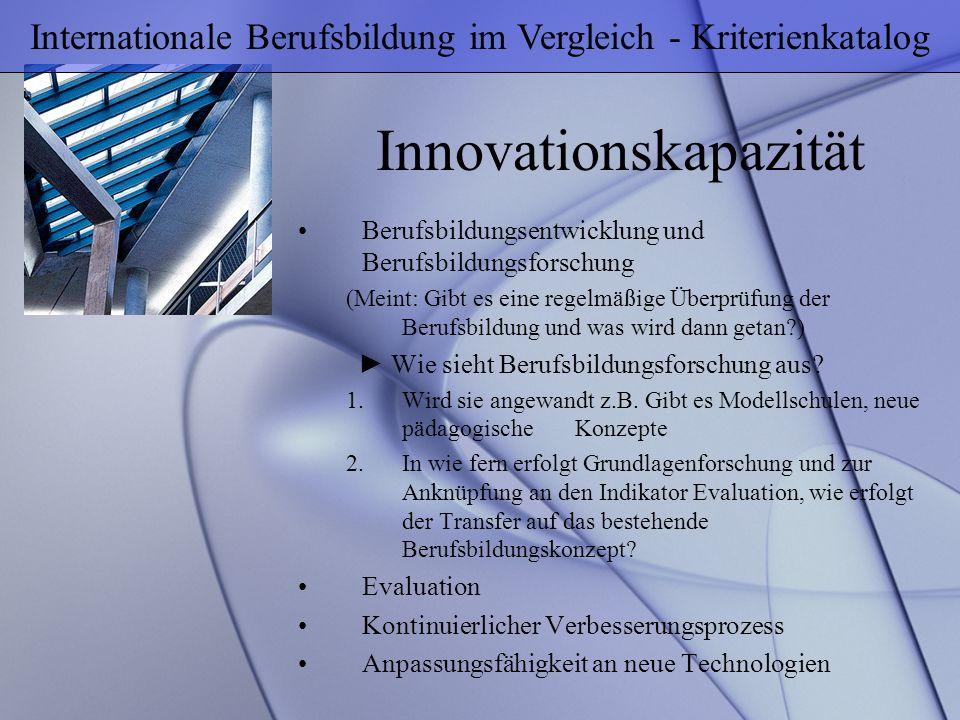 Innovationskapazität