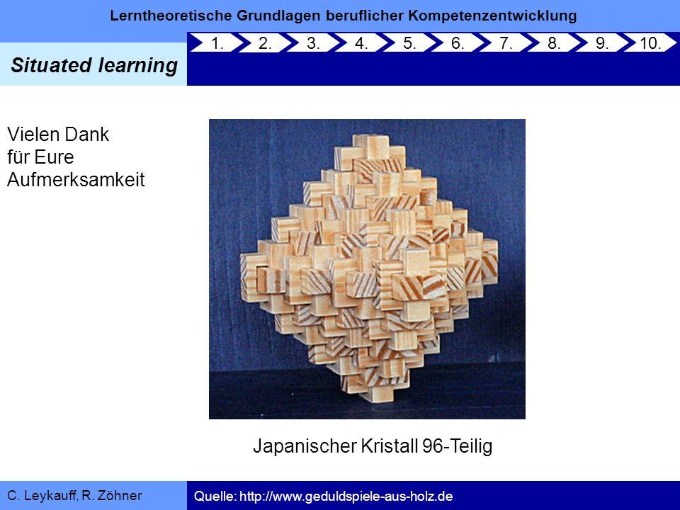 Japanischer Kristall 96-Teilig