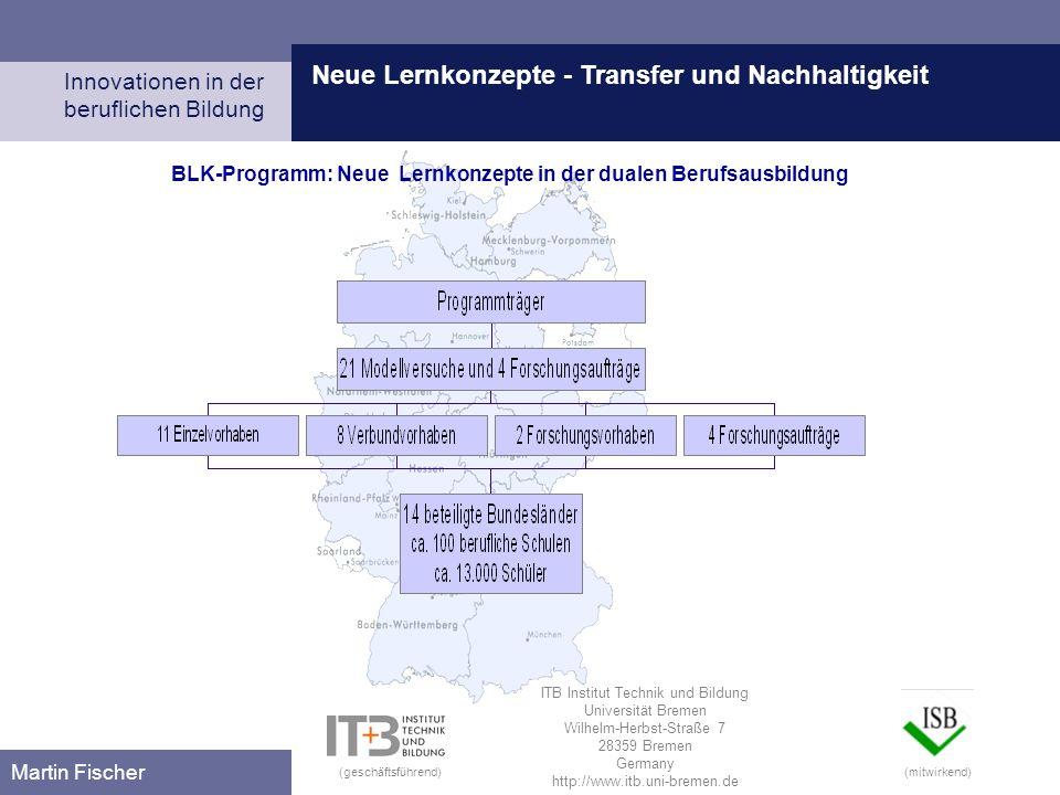 Neue Lernkonzepte - Transfer und Nachhaltigkeit
