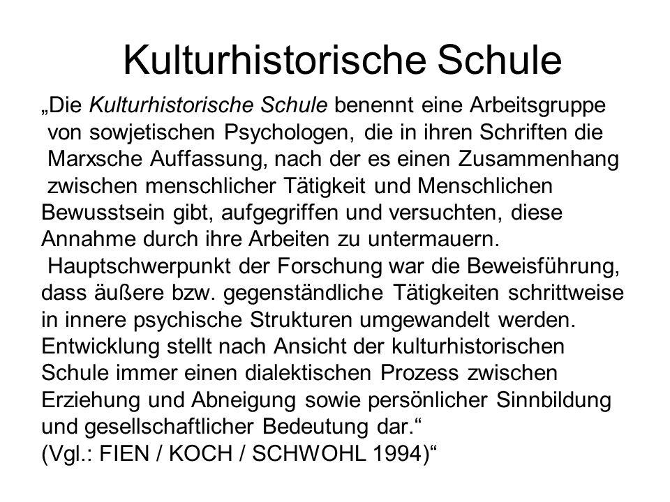 Kulturhistorische Schule