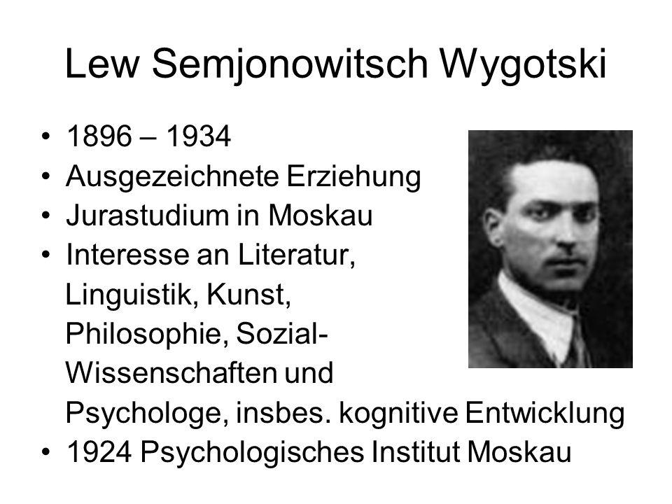 Lew Semjonowitsch Wygotski
