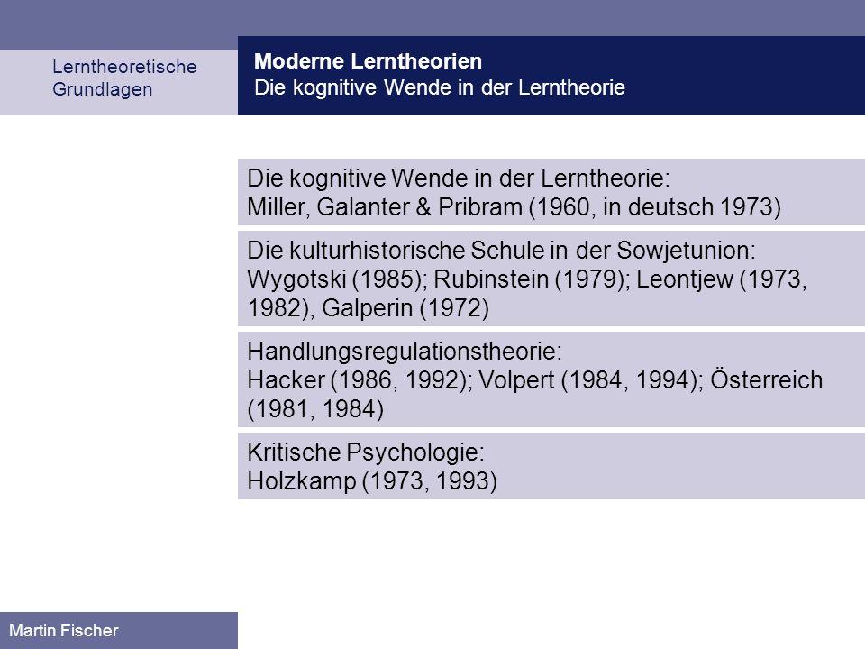 Kritische Psychologie: Holzkamp (1973, 1993)