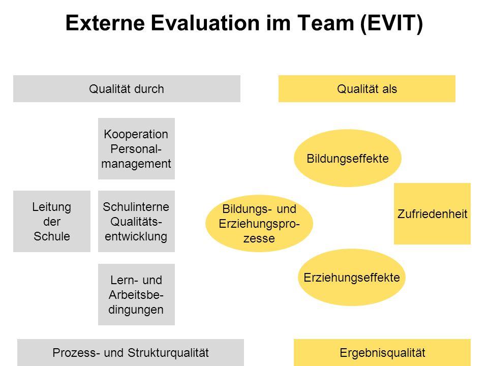 Externe Evaluation im Team (EVIT)