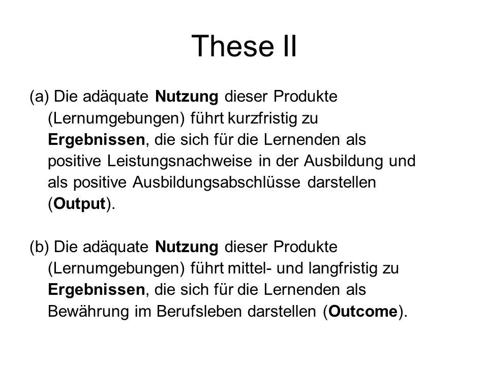 These II (a) Die adäquate Nutzung dieser Produkte