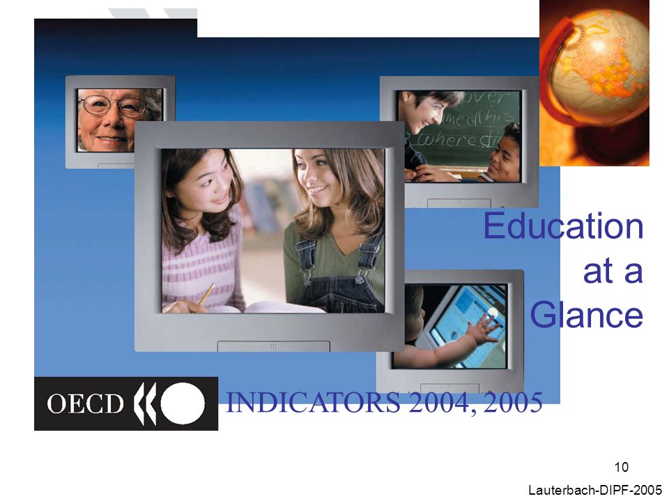 Education at a Glance INDICATORS 2004, 2005 Lauterbach-DIPF-2005