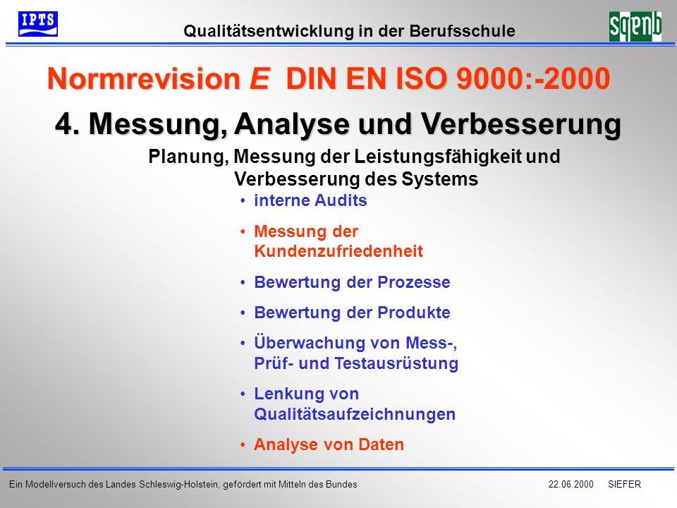 4. Messung, Analyse und Verbesserung
