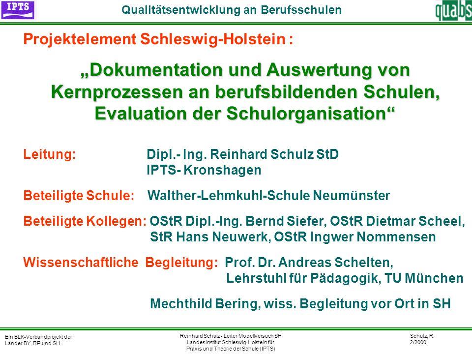 Qualitätsentwicklung an Berufsschulen