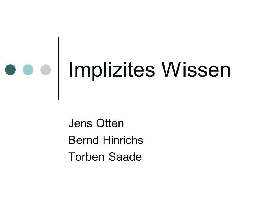 Jens Otten Bernd Hinrichs Torben Saade