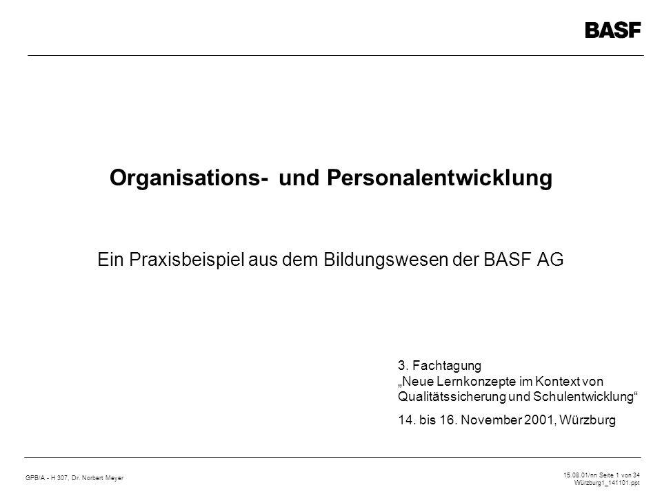 Ein Praxisbeispiel aus dem Bildungswesen der BASF AG