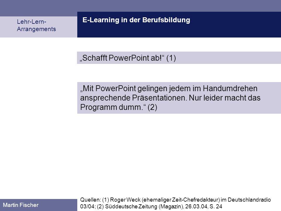 """""""Schafft PowerPoint ab! (1)"""