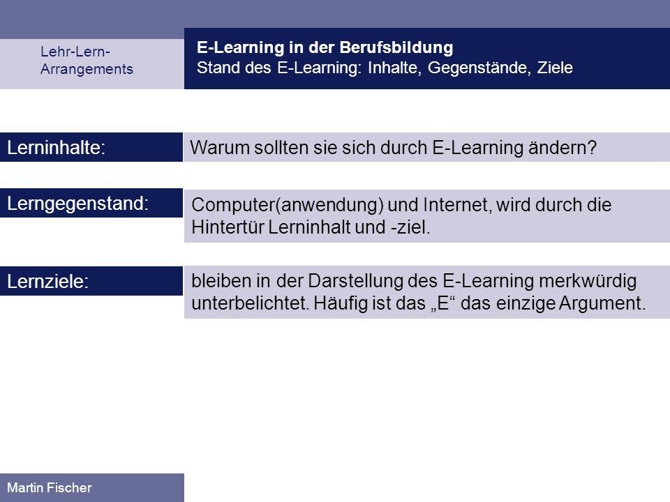 Warum sollten sie sich durch E-Learning ändern