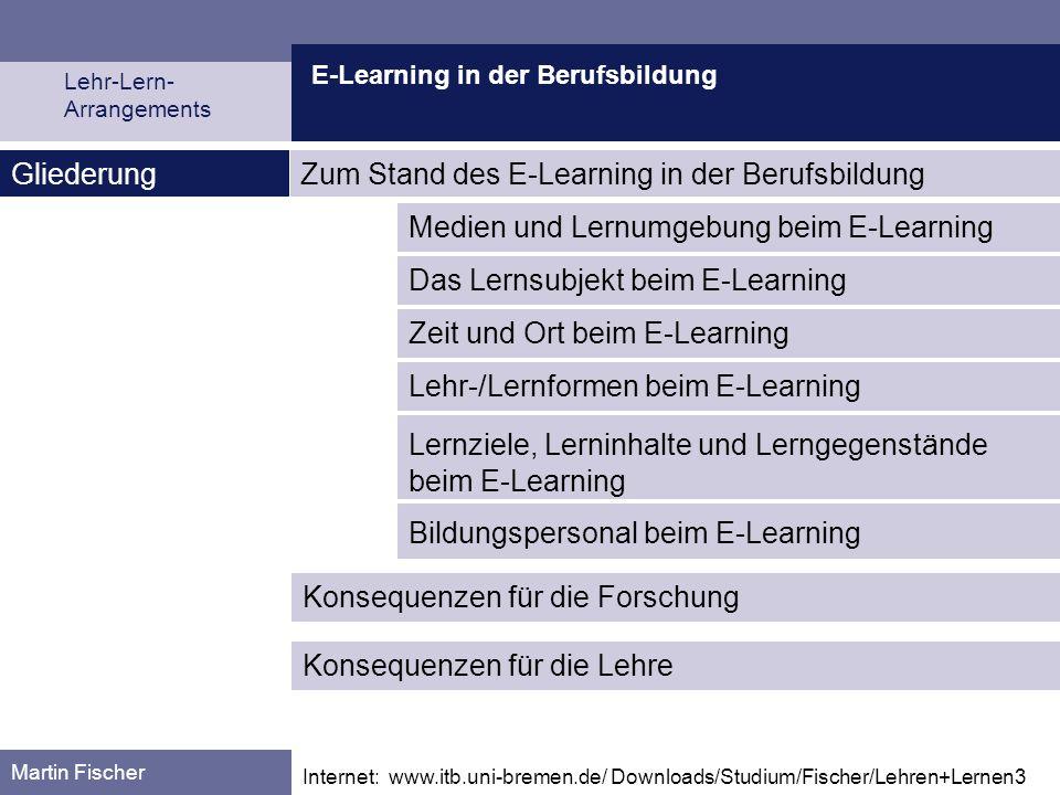 Zum Stand des E-Learning in der Berufsbildung