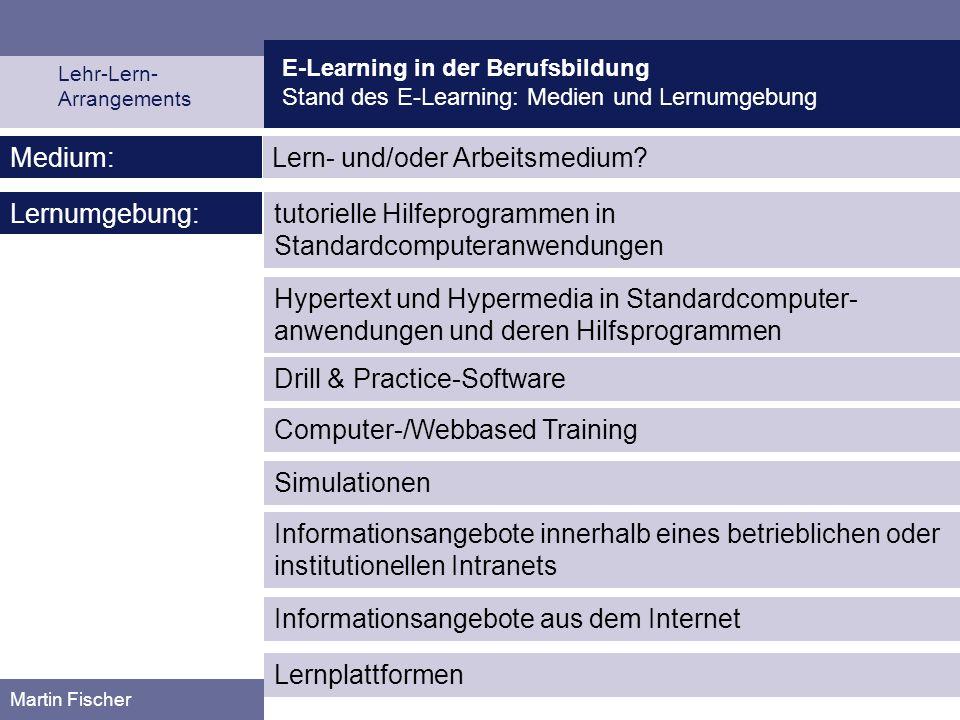 Lern- und/oder Arbeitsmedium