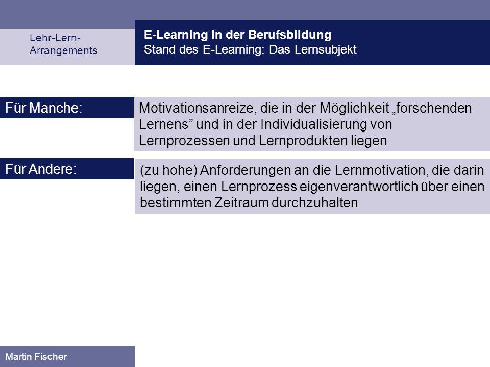 E-Learning in der Berufsbildung