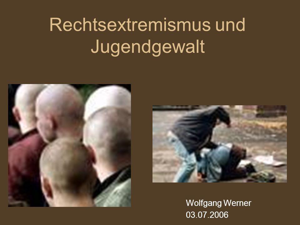 Rechtsextremismus und Jugendgewalt