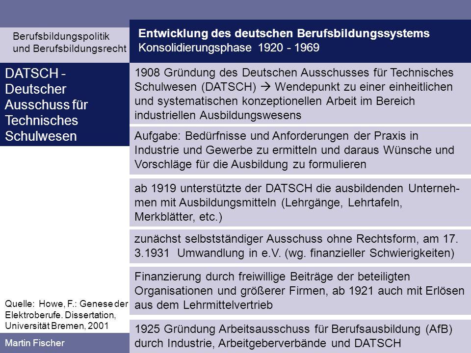 DATSCH - Deutscher Ausschuss für Technisches Schulwesen