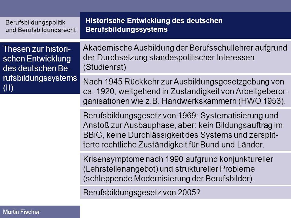 Berufsbildungsgesetz von 2005