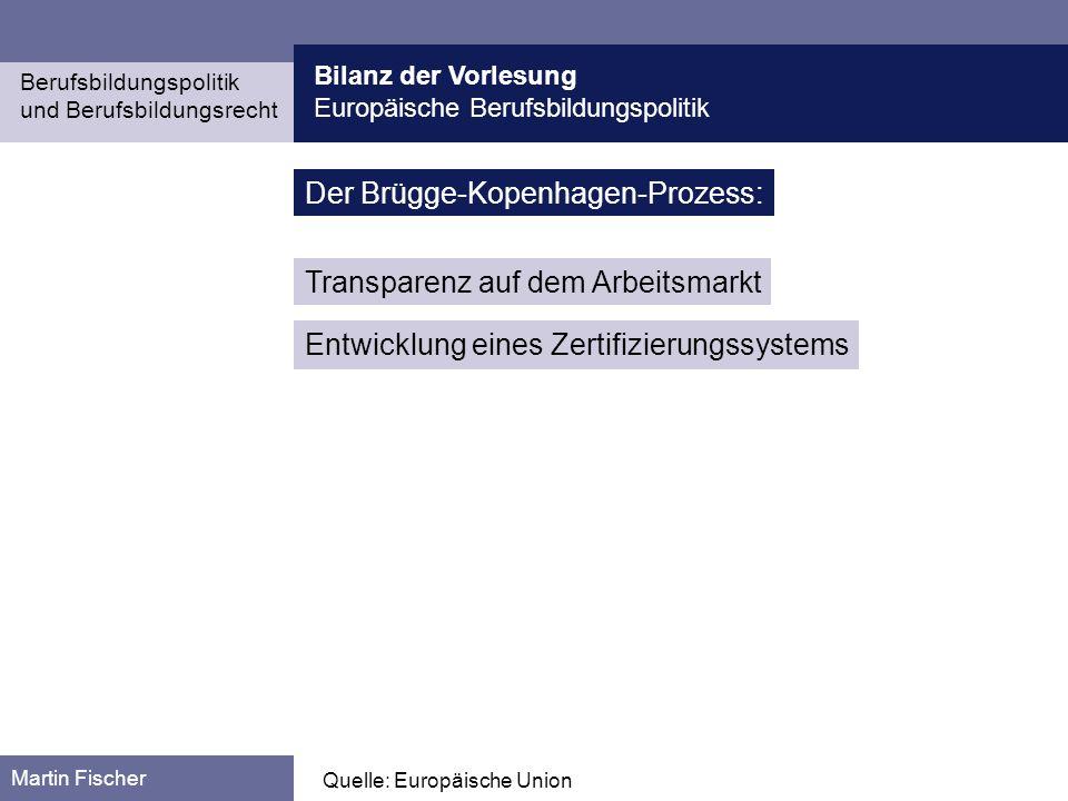 Der Brügge-Kopenhagen-Prozess:
