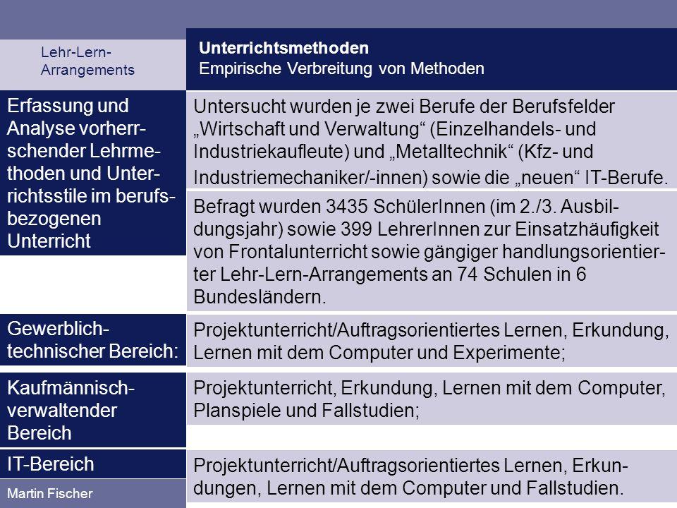 """Industriemechaniker/-innen) sowie die """"neuen IT-Berufe."""