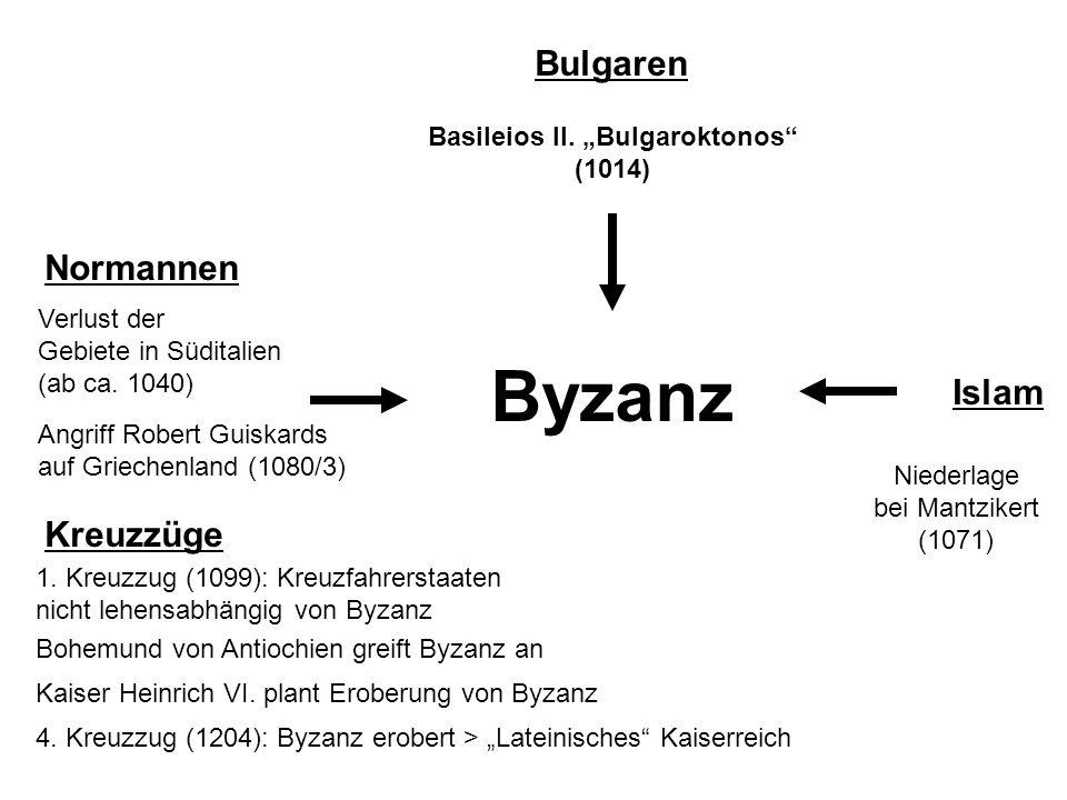 """Basileios II. """"Bulgaroktonos (1014)"""