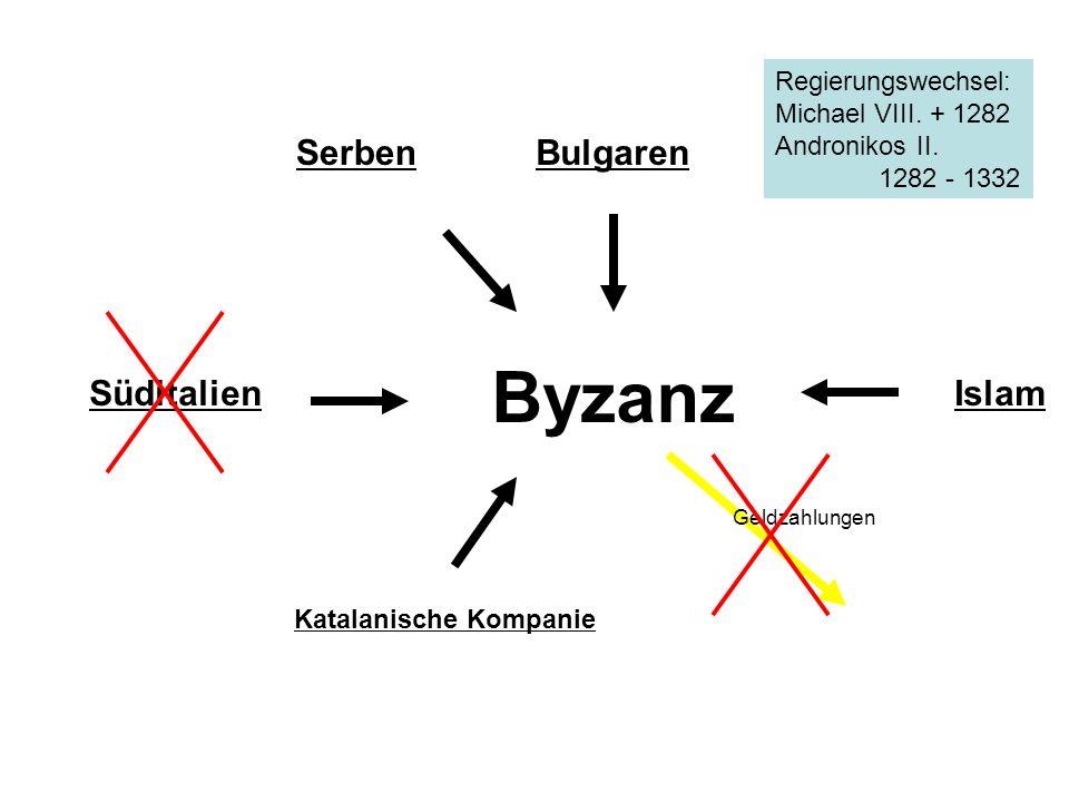 Byzanz Serben Bulgaren Süditalien Islam