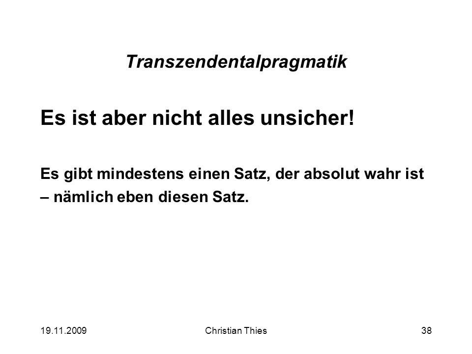 Transzendentalpragmatik