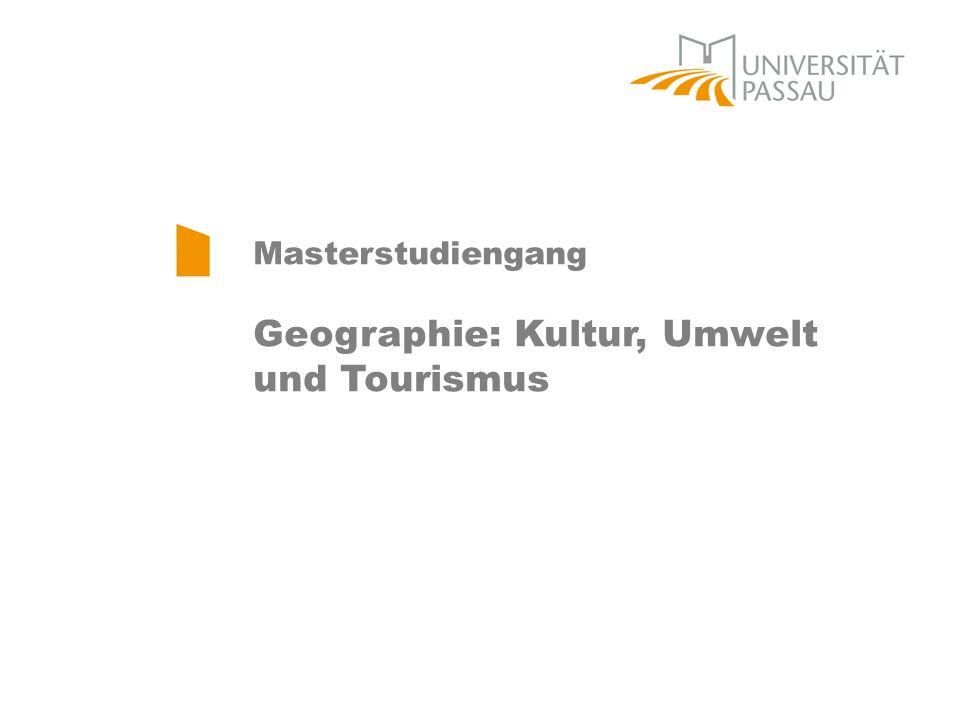 Geographie: Kultur, Umwelt und Tourismus