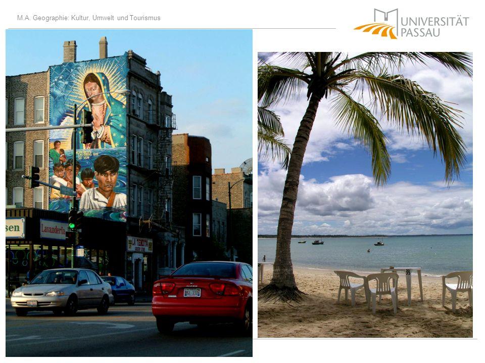 M.A. Geographie: Kultur, Umwelt und Tourismus
