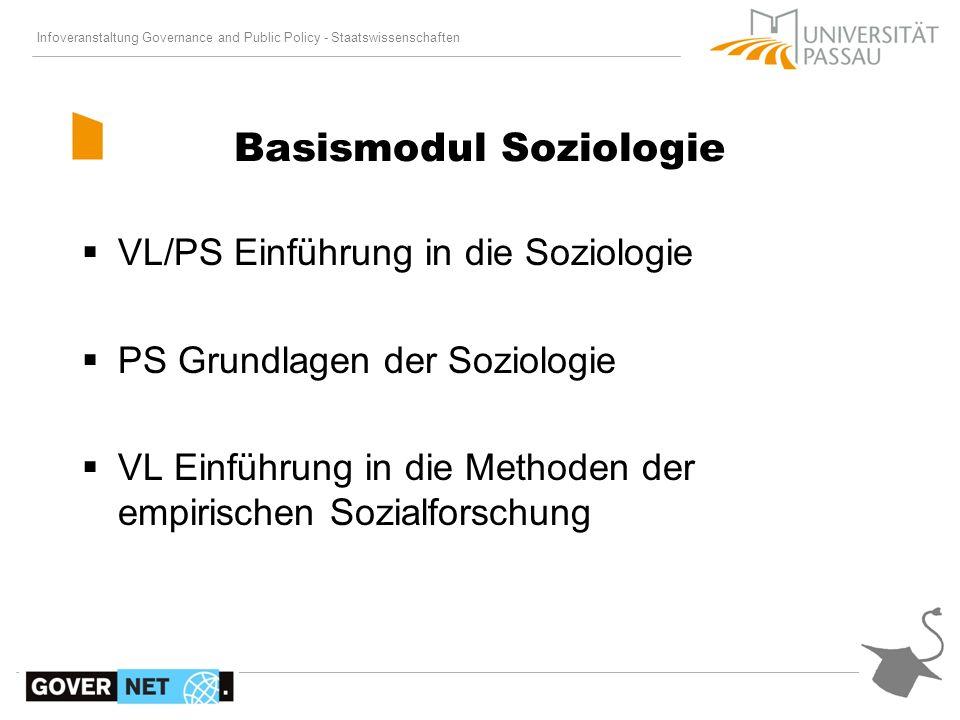 Basismodul Soziologie