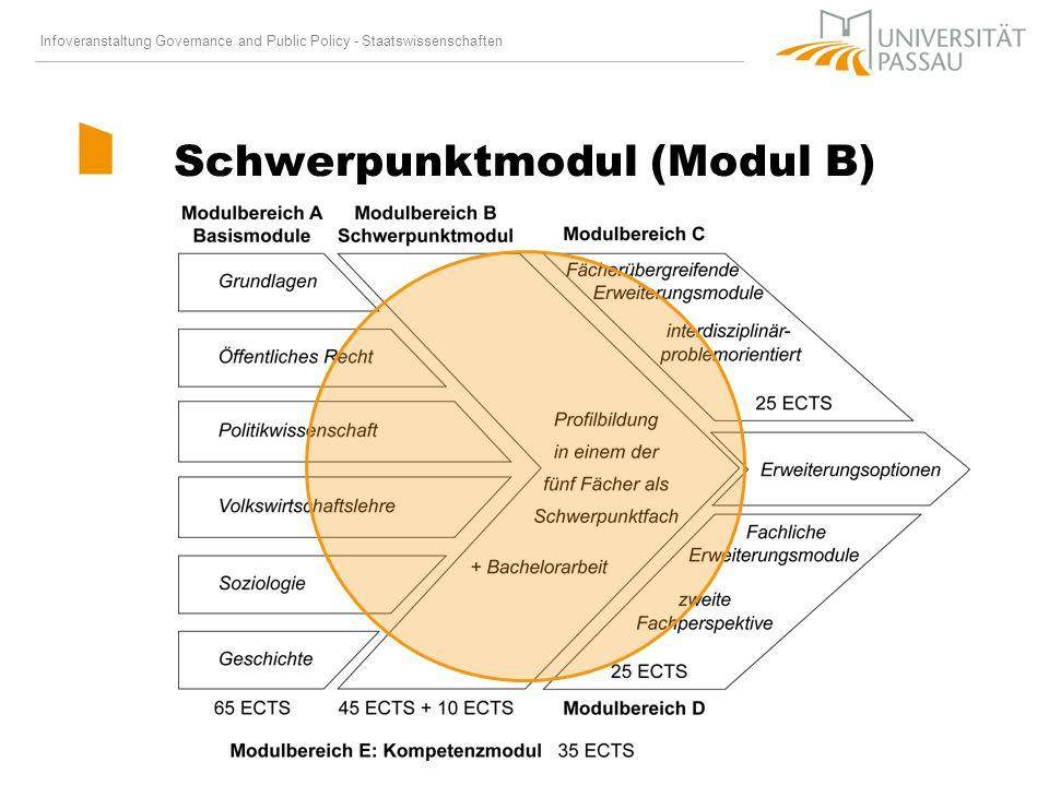 Schwerpunktmodul (Modul B)