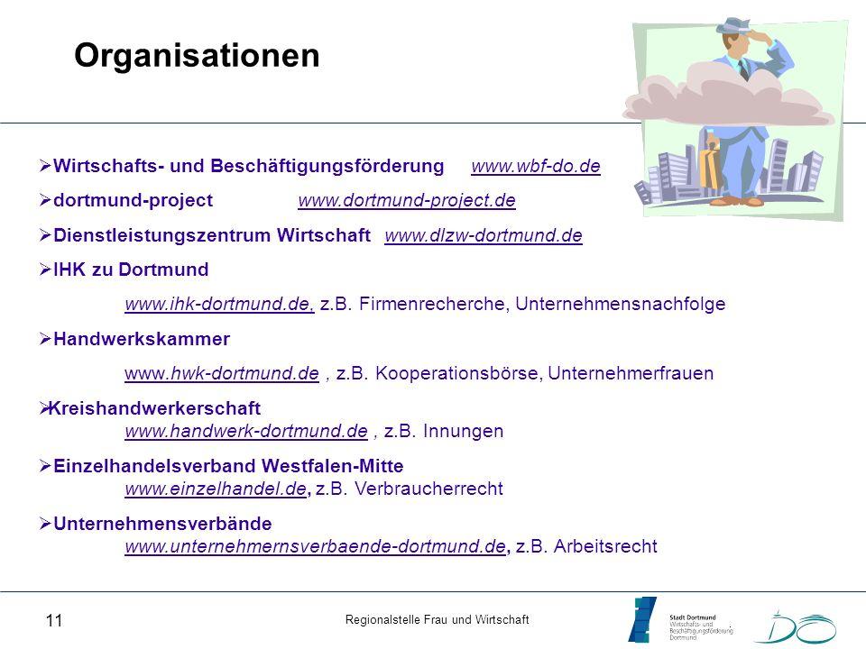 Organisationen Wirtschafts- und Beschäftigungsförderung www.wbf-do.de