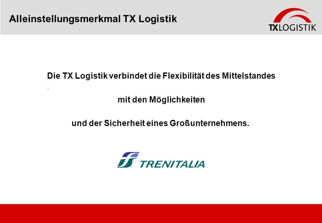 Alleinstellungsmerkmal TX Logistik
