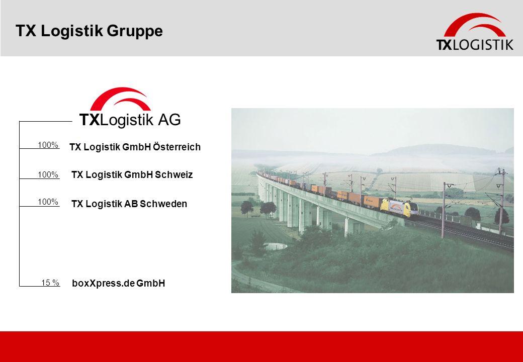 TX Logistik Gruppe TXLogistik AG TX Logistik GmbH Österreich