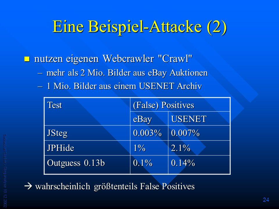 Eine Beispiel-Attacke (2)