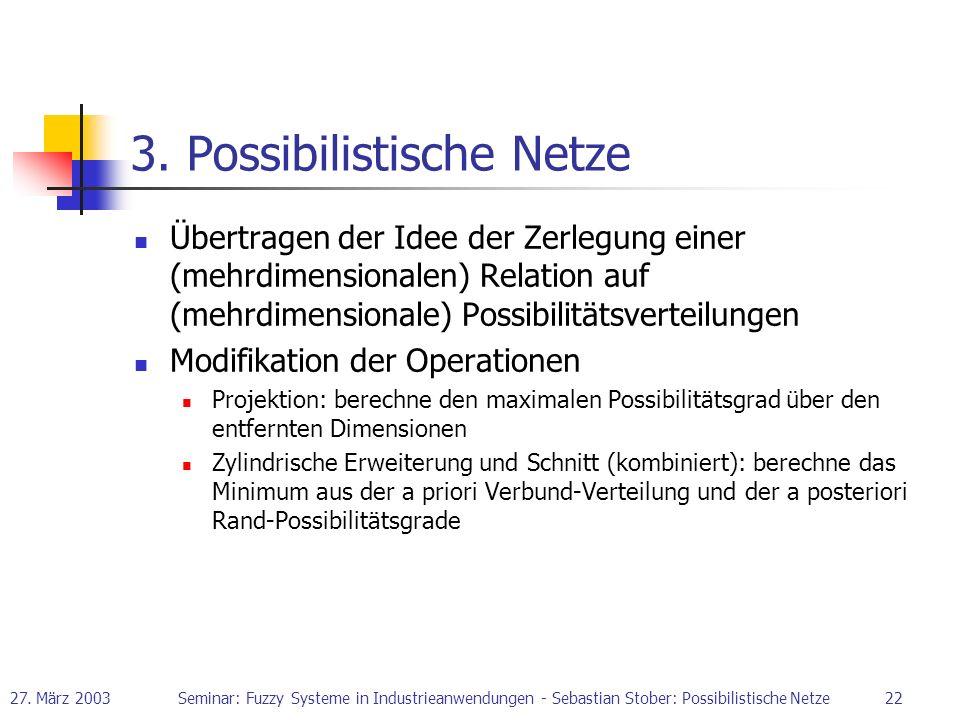 3. Possibilistische Netze